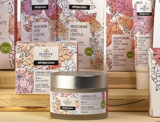 Cosmetici naturali equosolidali al Mappamondo Mantova