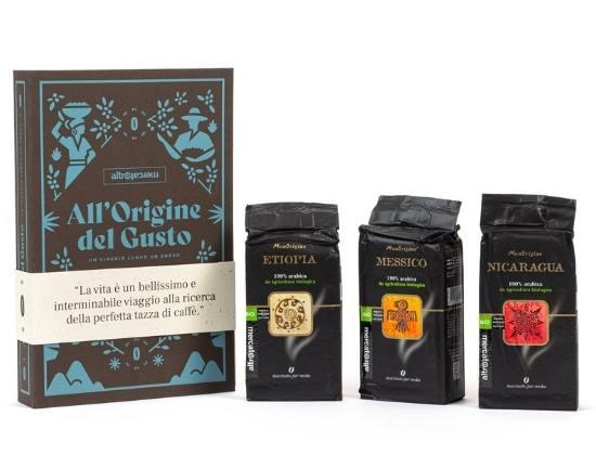 Idea regalo caffè equosolidale al Mappamondo Mantova